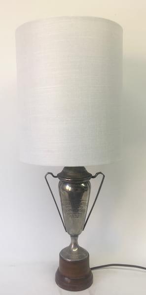 LALIA Silver trophy lamp