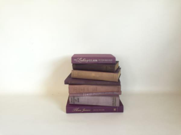 PURPLE/PLUM COLOR BOOK