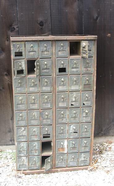 Antique Post Office Boxes