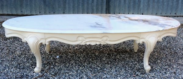 MARGARET MARBLE TOP COFFEE TABLE