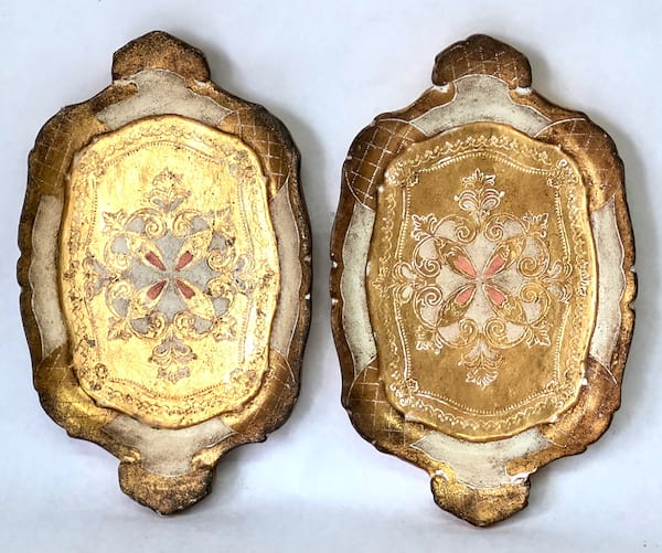 TERRY SMALL FLORENTINE TRAY