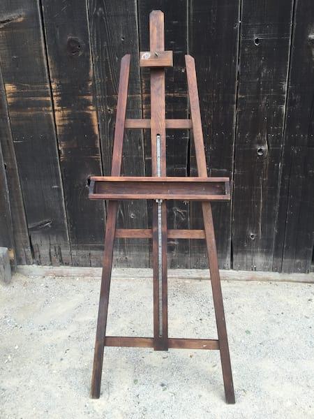 EMERSON Wood Artist  Easel