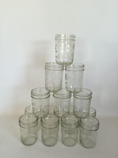 8 OZ MASON JARS