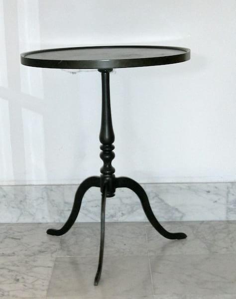 TEEGAN BLACK SIDE TABLE