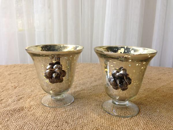 Embellished Mercury Glass