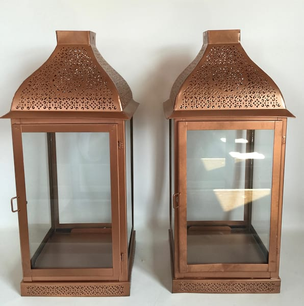 CIARA COPPER LANTERN