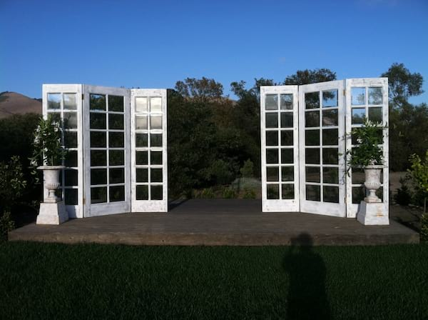 8 FOOT TALL FRENCH DOORS