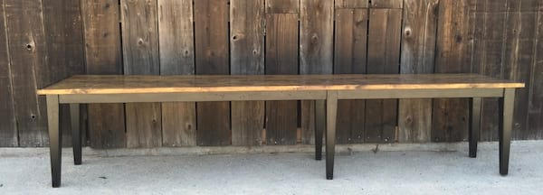 WALLER WOOD TABLE (12 FT.)