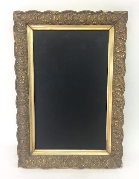 LARRIE ORNATE GOLD FRAME 12 X 20