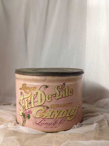 Pink Candy Tin