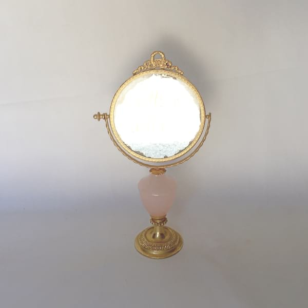 Small Gold/Blush Mirror