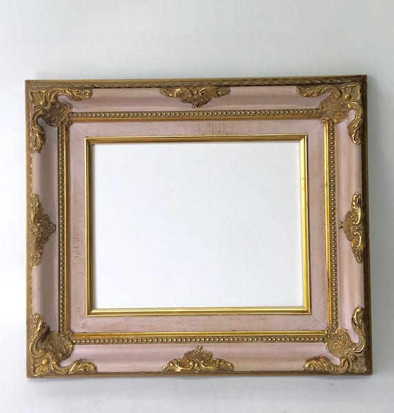 REMI PINK AND GOLD 8 X 10 FRAME