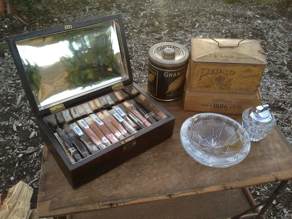 Cigar Bar Setup