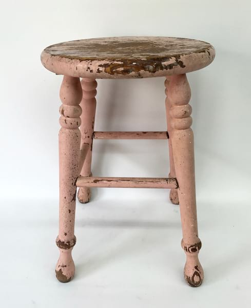 STACEY PINK STOOL