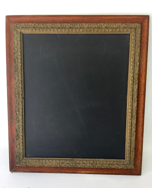 FABIAN WOOD AND GOLD FRAME