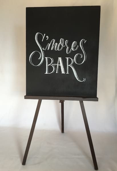 S'mores Bar Sign