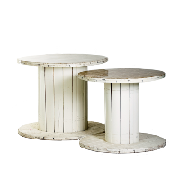 Spool Tables (Pair)