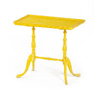 Small Yellow Side Table