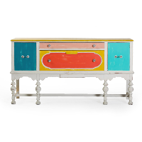 Large Multicolored Buffet