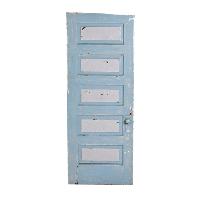 Blueish/Grey Door