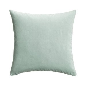 Dusty Blue Velvet Pillows