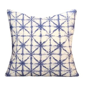 Shibori Indigo Pillows