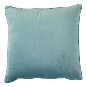 Light Blue Velvet Pillow