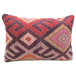 Multi Bright Kilim Pillow