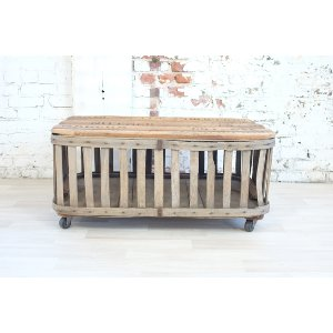 Nutmeg Crate Coffee Table