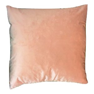 Light Coral Pink Shimmer Velvet Pillow