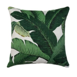Green Palm Pillows
