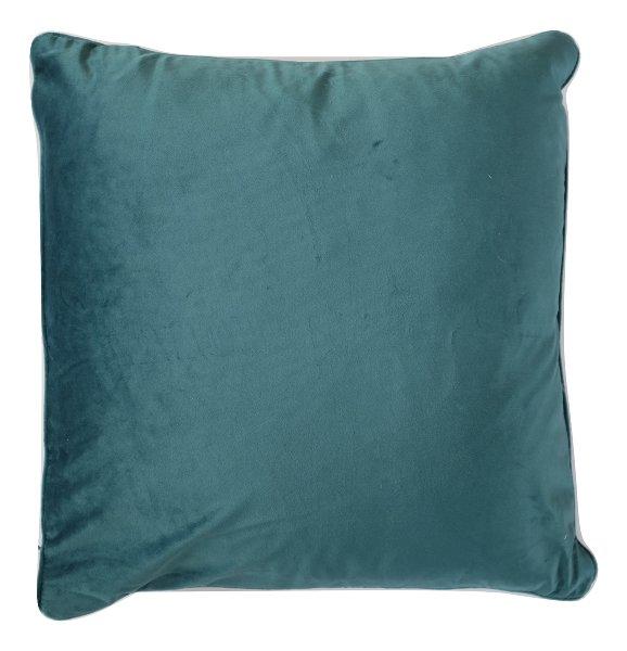Pacific Blue Velvet Pillow