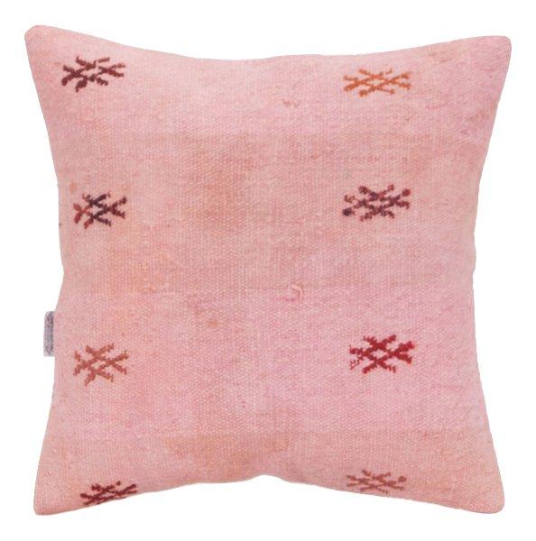 Pink Kilim Pillow 1