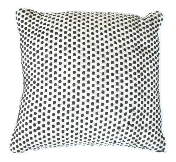Seeing Spots Black and White Pillow