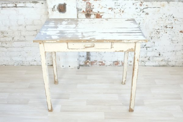 Distressed Cake Table