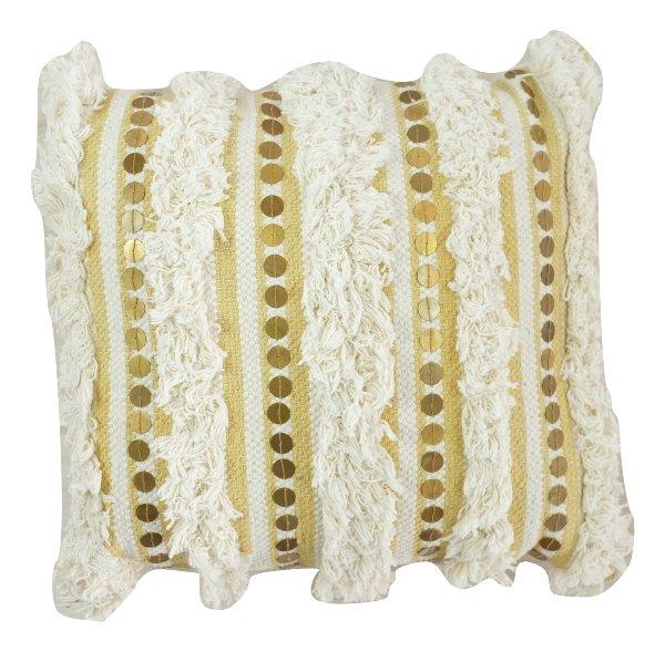 Yellow Moraccan Pillow