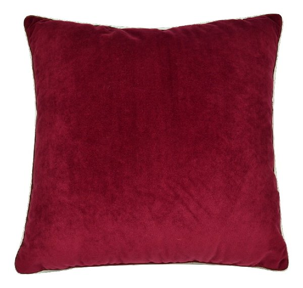Red Red Wine Pillow, Burgundy