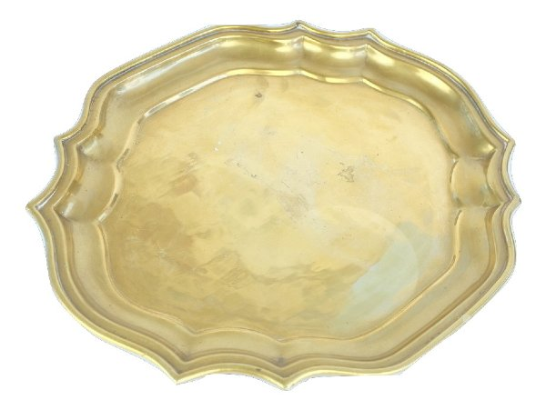 Ornamental  Brass Tray