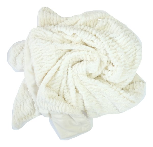 Ivory Fur Throw
