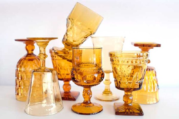 Amber Goblet Collection