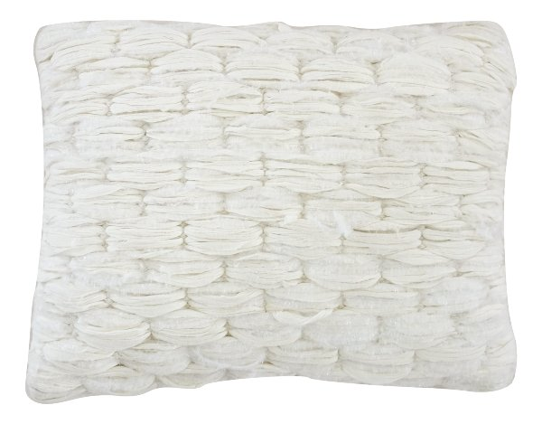 Ivory Textured Pillow