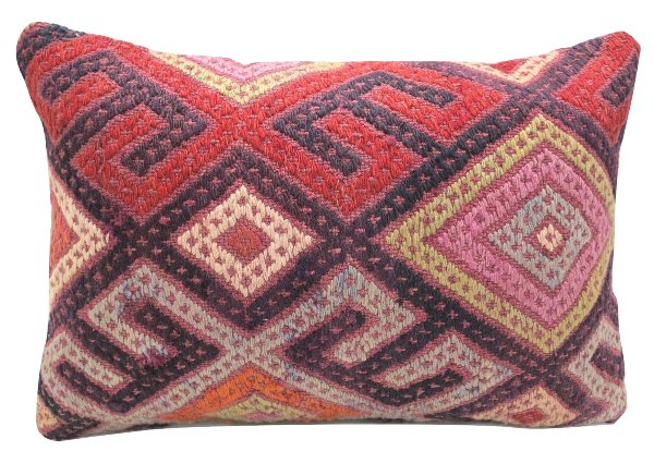 Multi Bright Kilim Pillow