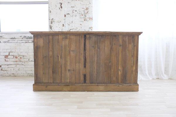 "Reclaimed Wood Bar 74"""