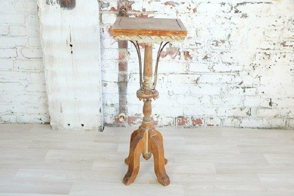 Unique Wood Side Table