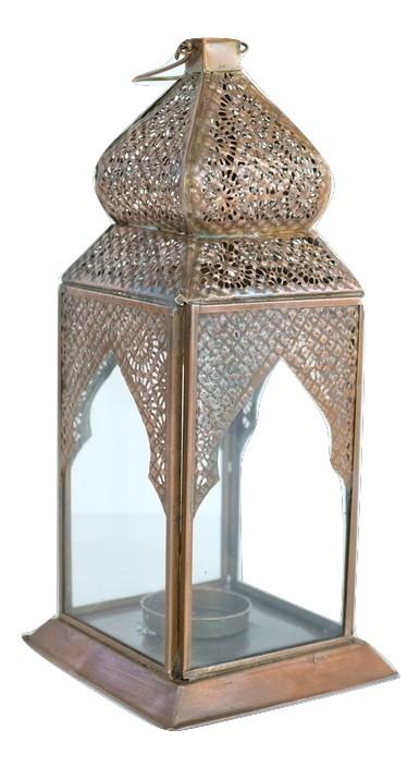 Copper Moroccan Lantern