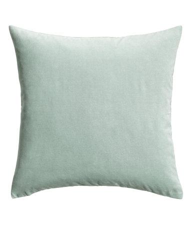 Dusty Green Velvet Pillow