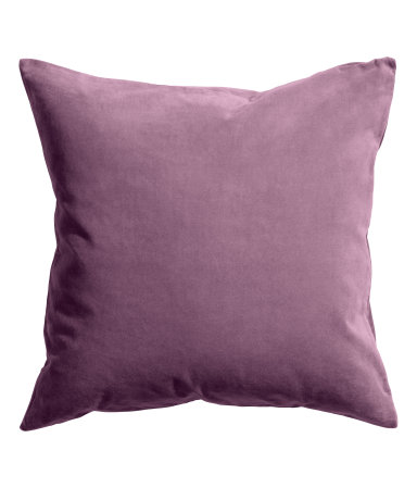 Fig Velvet Pillow