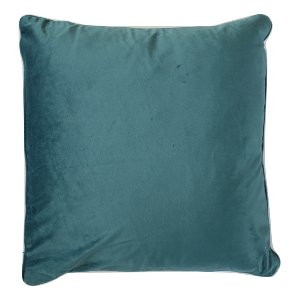 Pacific Blue Velvet Pillow
