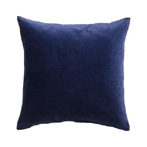 Navy Velvet Pillows