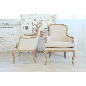 Chad Beige Arm Chair